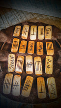 Celtic Ogham Runes (Cherry Wood Stave) - The Carnutian Workshop