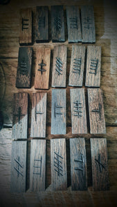 Celtic Ogham Runes  - The Carnutian Workshop