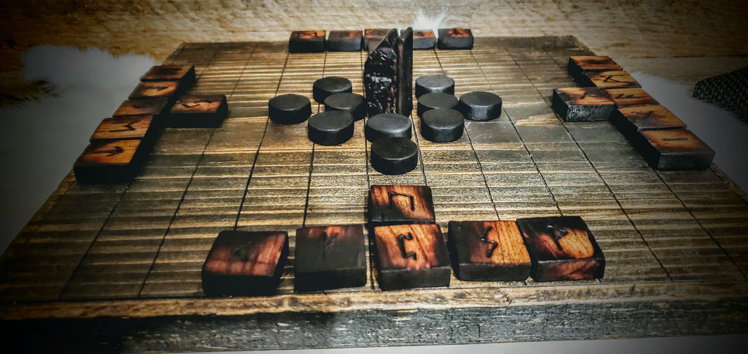 Runic Hnefatafl Board Game - The Carnutian Workshop