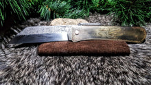 Hand Forged Pocket Knife - The Carnutian Workshop