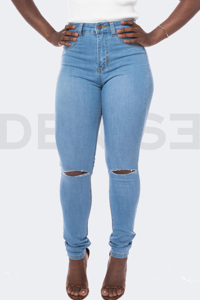 Super Stretchy Jeans BadGirl - Light Blue