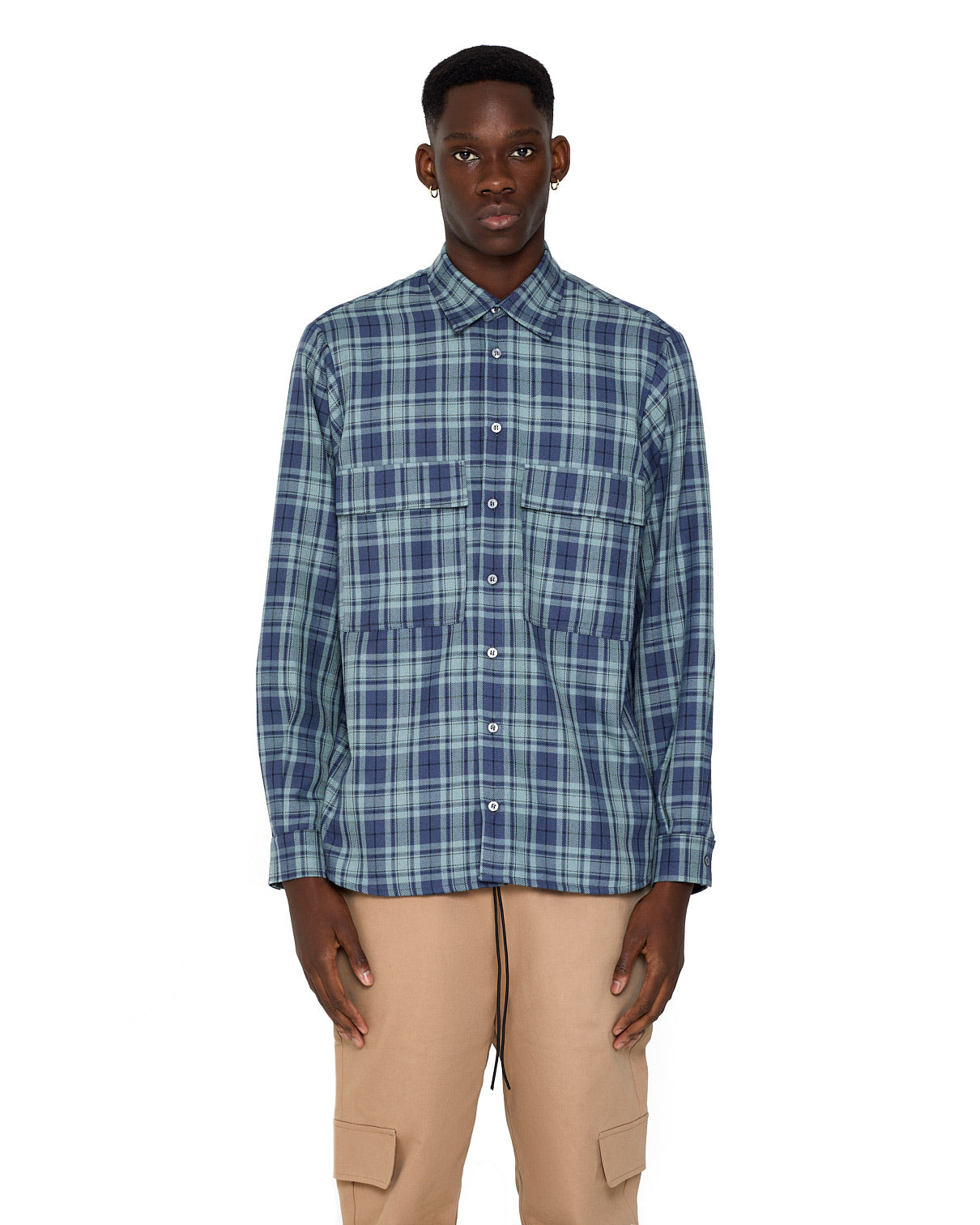 Flannel Shirt - Blue