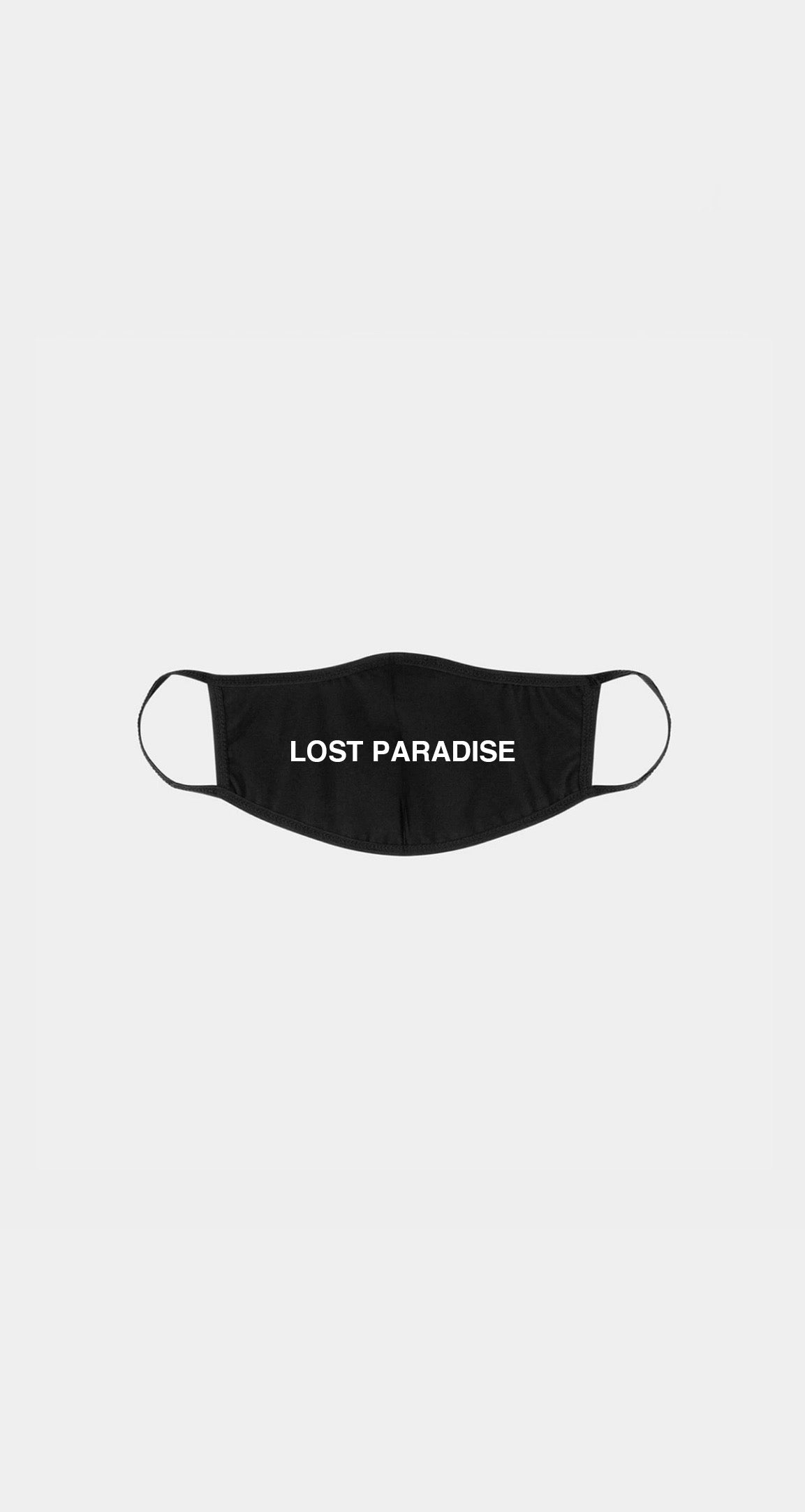 Lost Paradise Face Mask