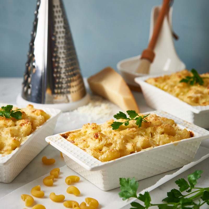 Our irresistible baked mac n cheese recipe (with a secret ingredient)