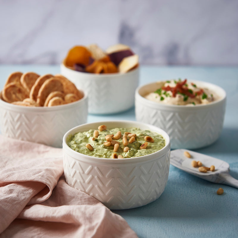 Fall entertaining - delicious dips to serve on game day