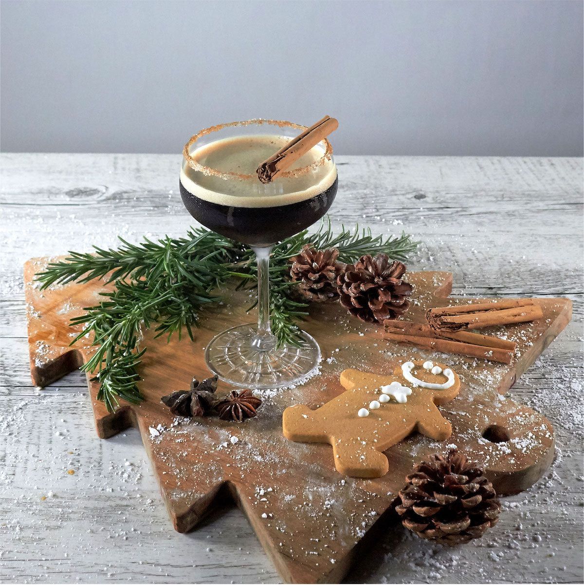 gingerbread espresso martini recipe