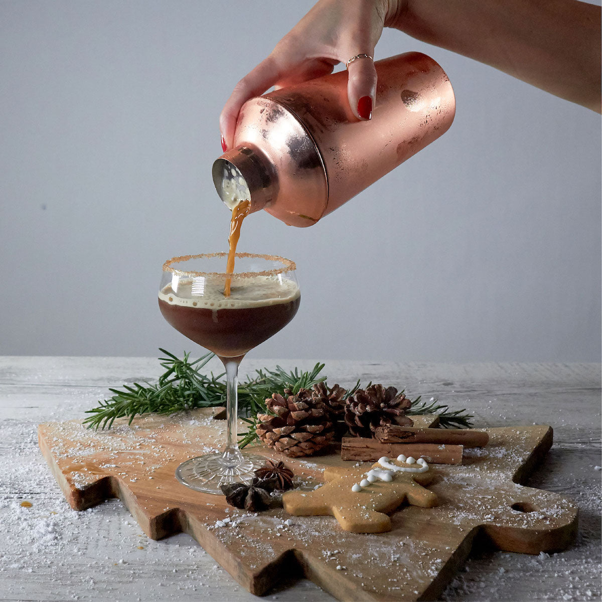 gingerbread espresso martini