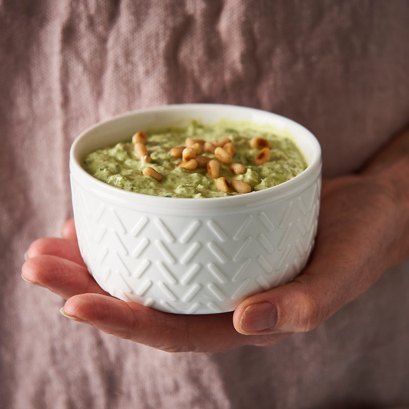 warmed spinach and parmesan dip recipe