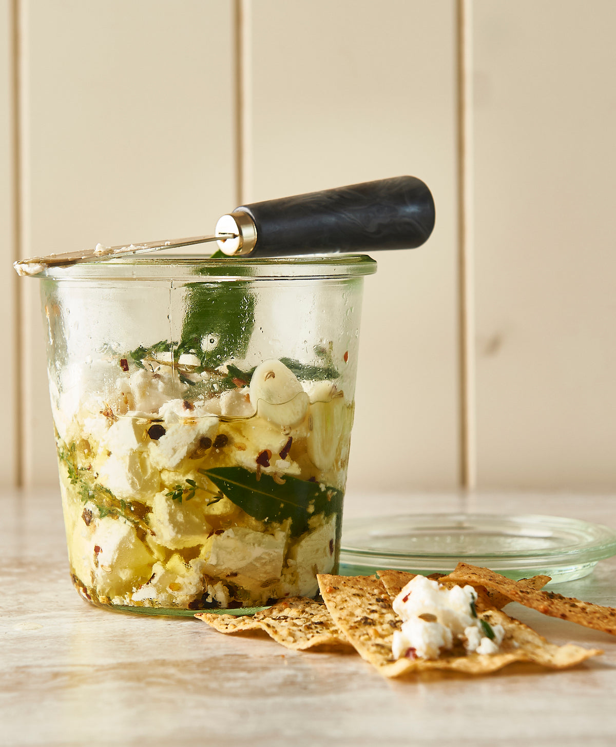 marinated feta recipe