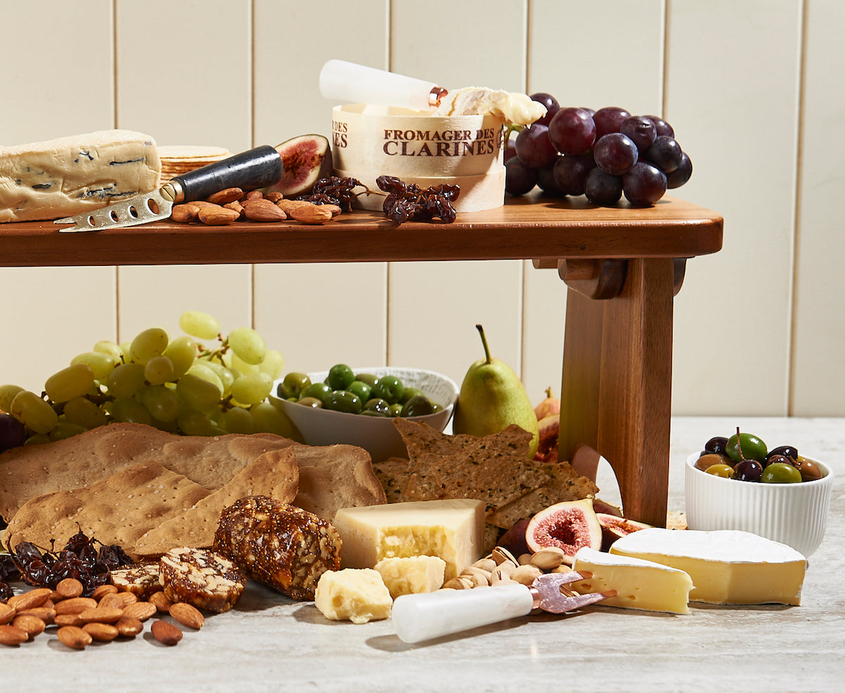 how to assemble cheese board