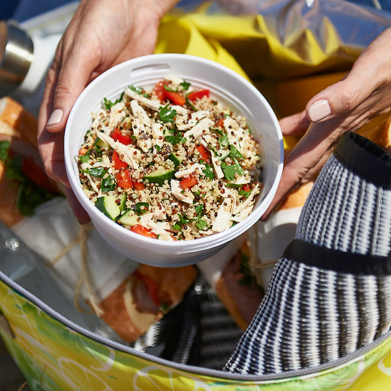picnic chicken quinoa salad recipe