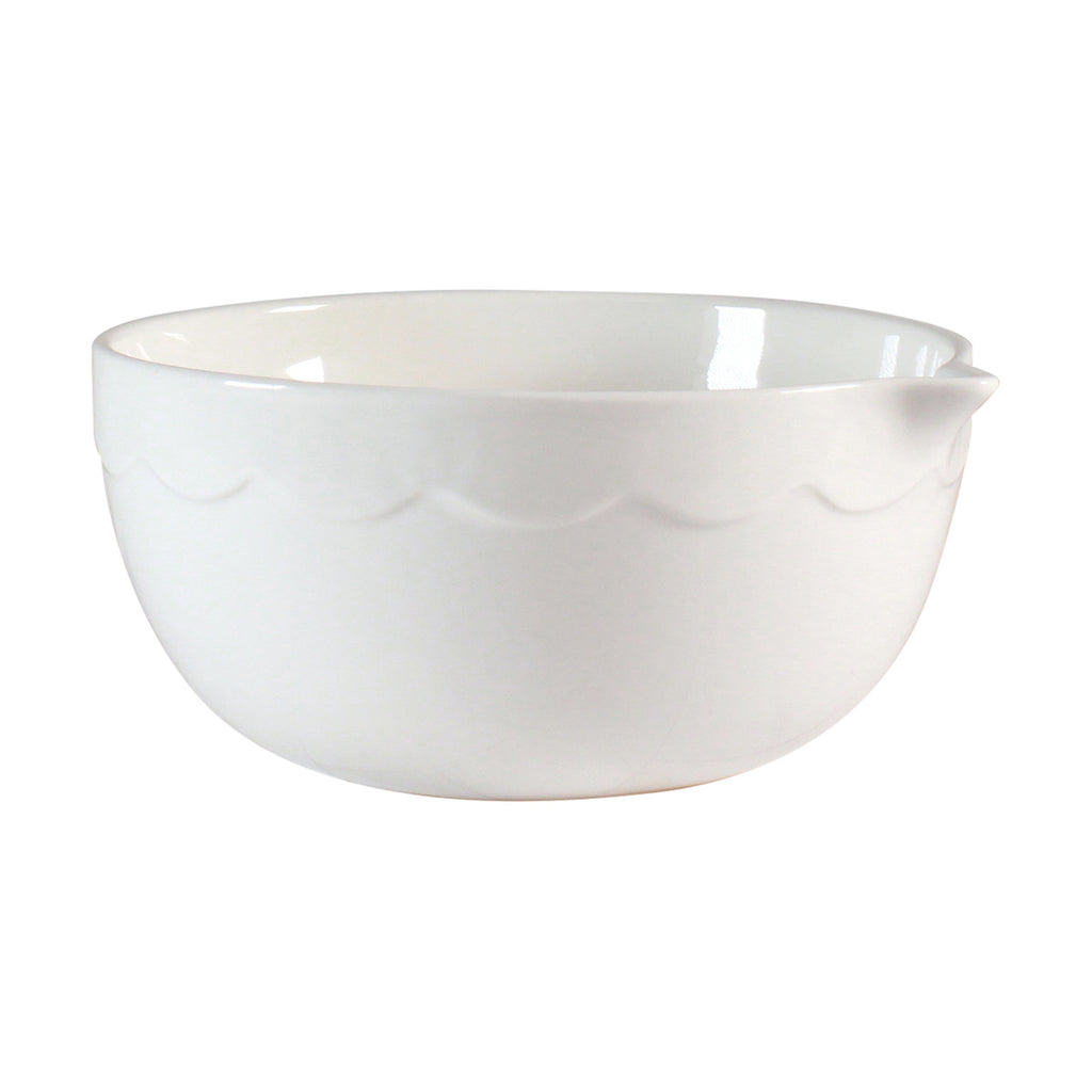 Mixing Bowl - Scallop Design