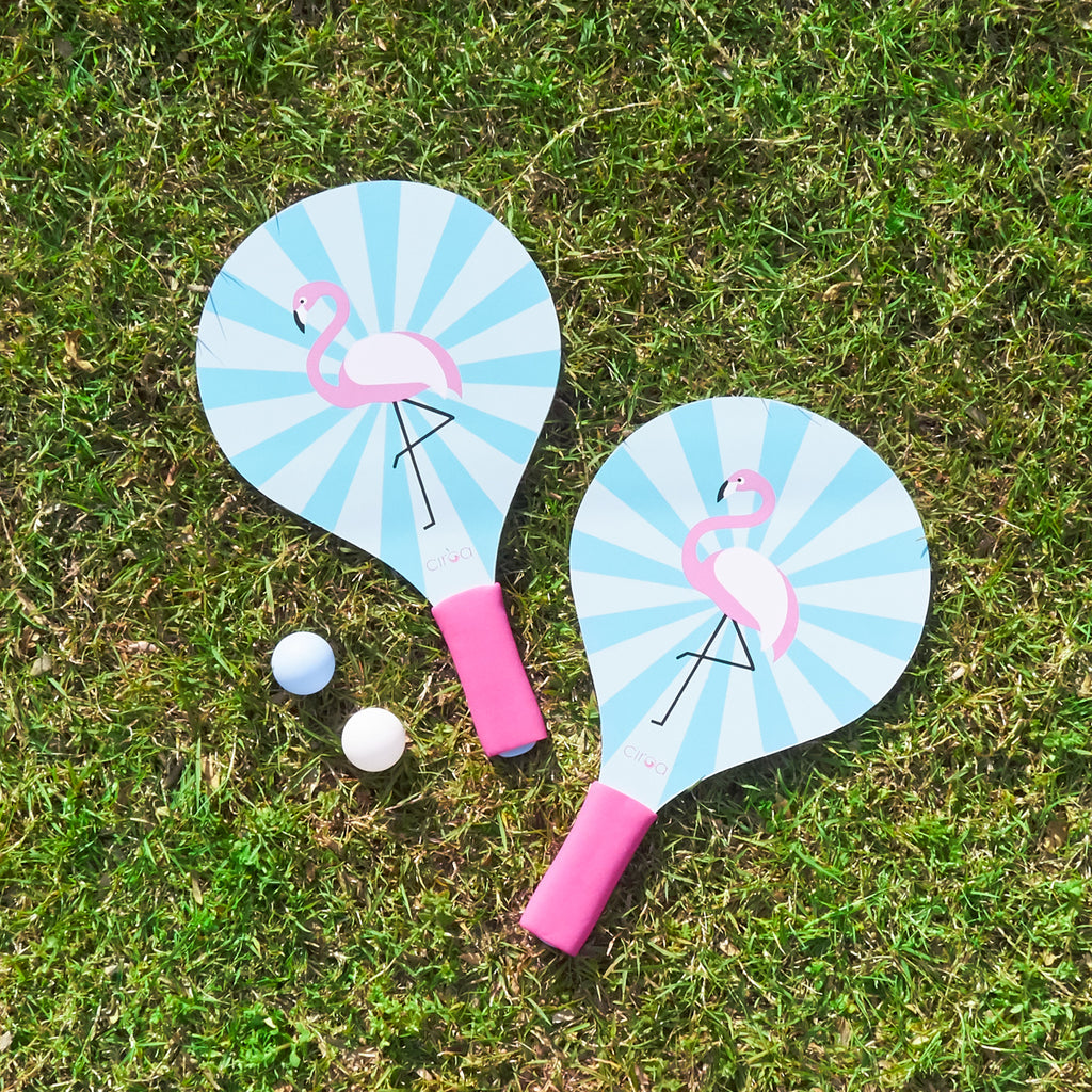 Paddle Ball Set - Flamingo