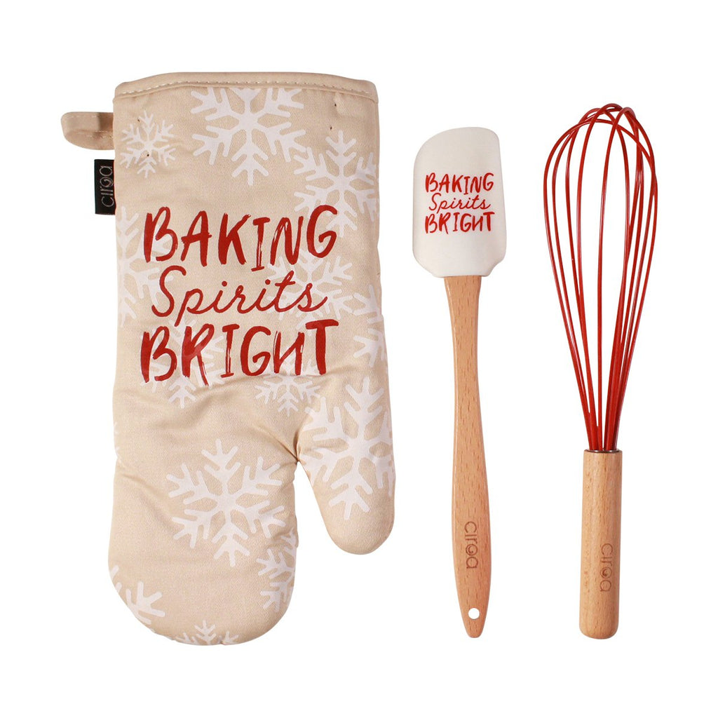 Mitt & Utensil Set - Baking Spirits