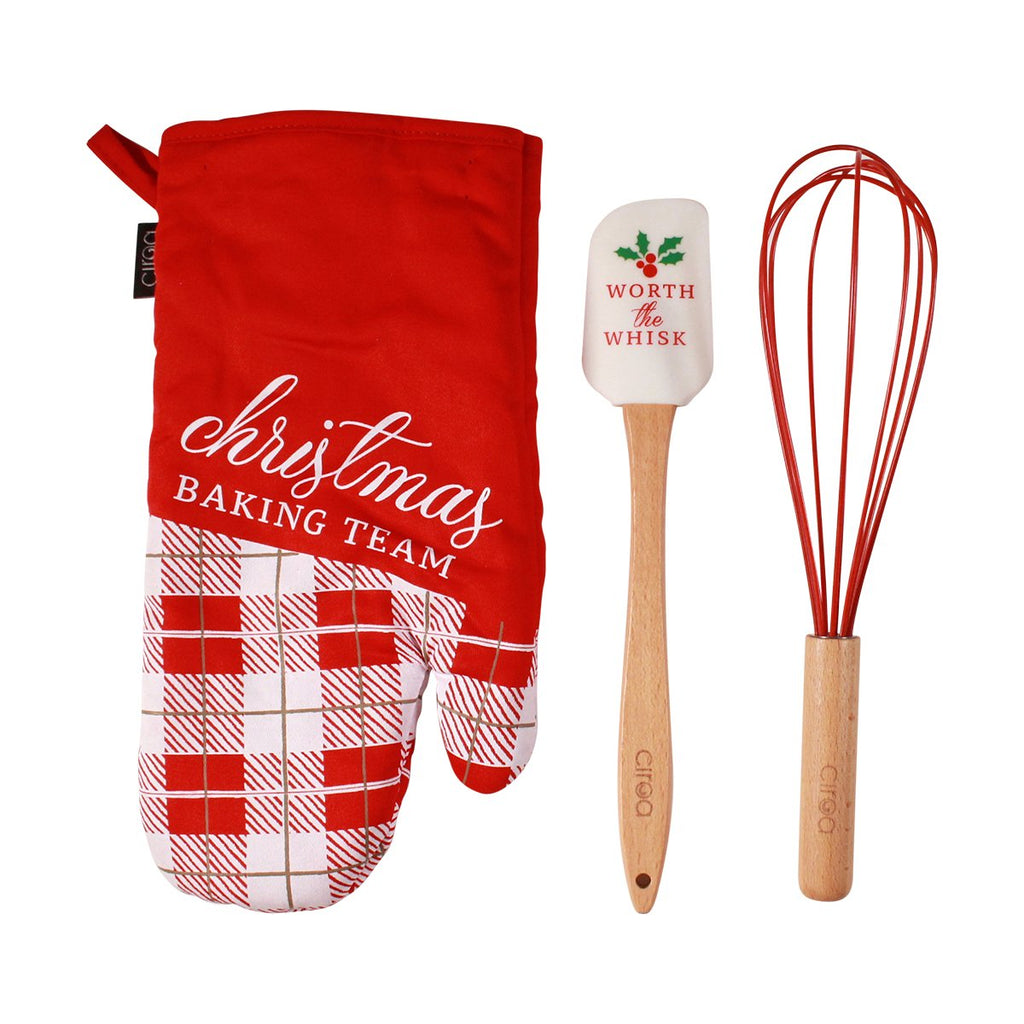 Mitt & Utensil Set - Baking Team