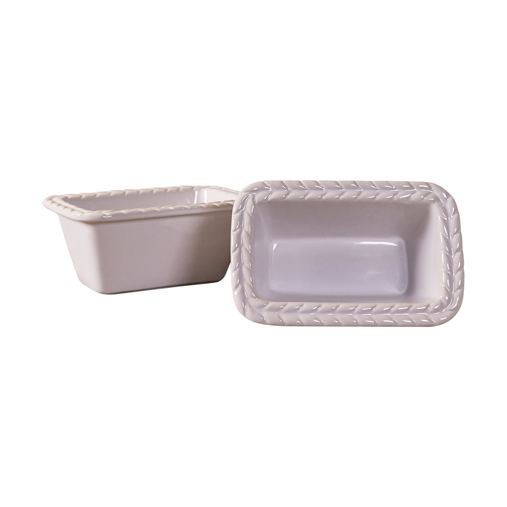 Mini Rectangular Baker Set - Wheat