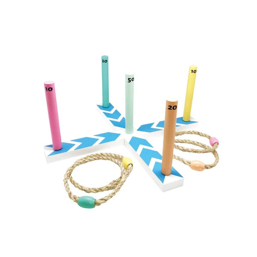 Ring Toss Set - Blue Arrow