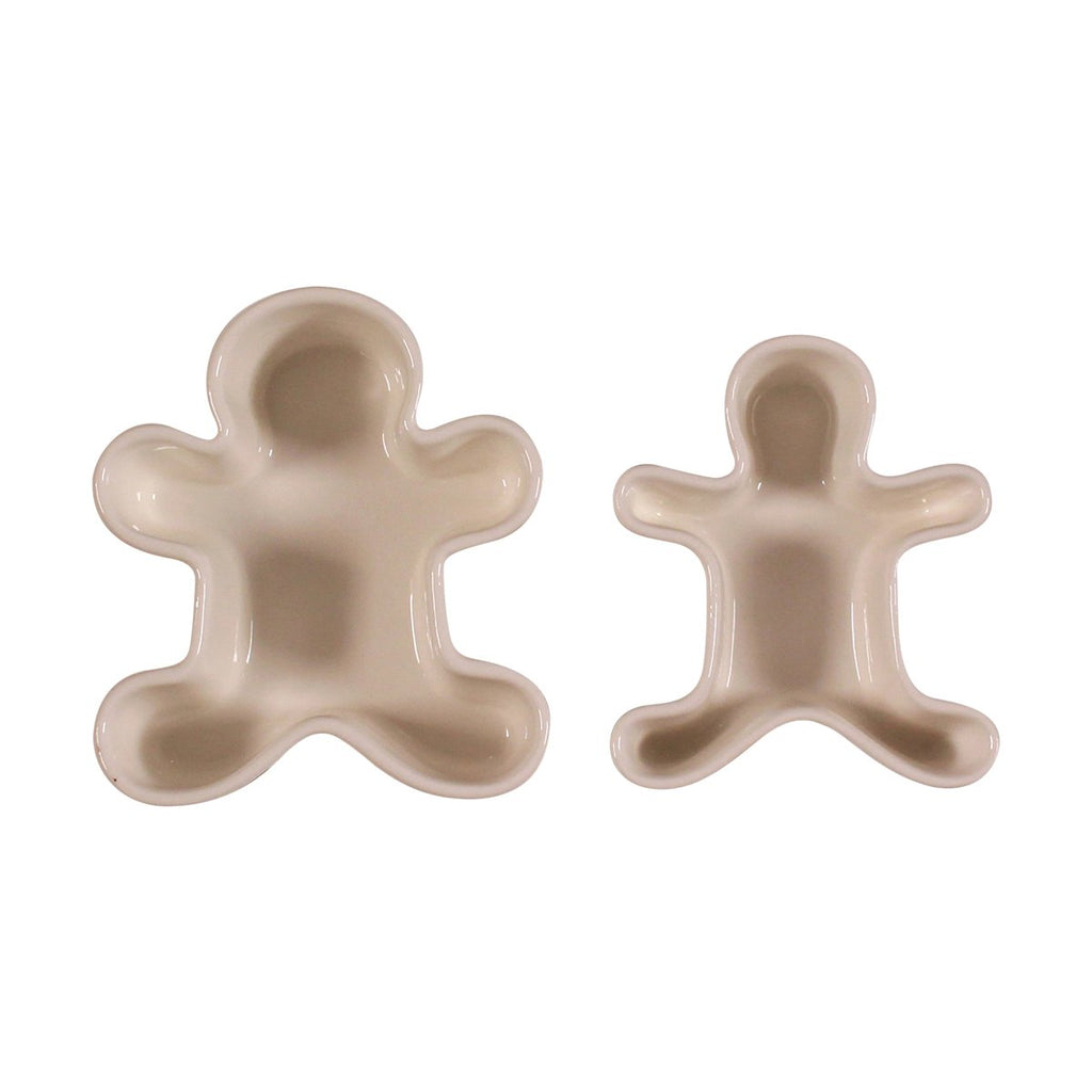 Set of 2 Figural Ramekins - Gingerbread Man