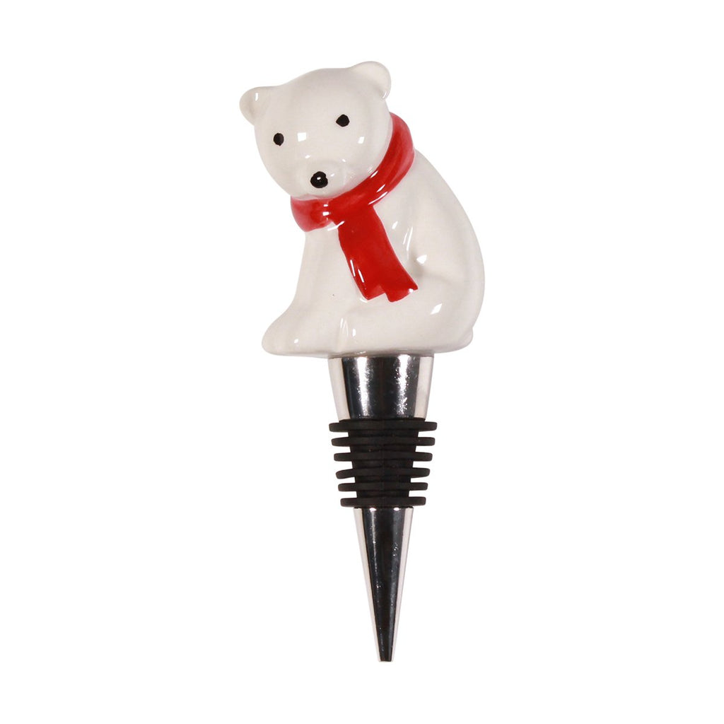 Bottle Stopper - Polar Bear