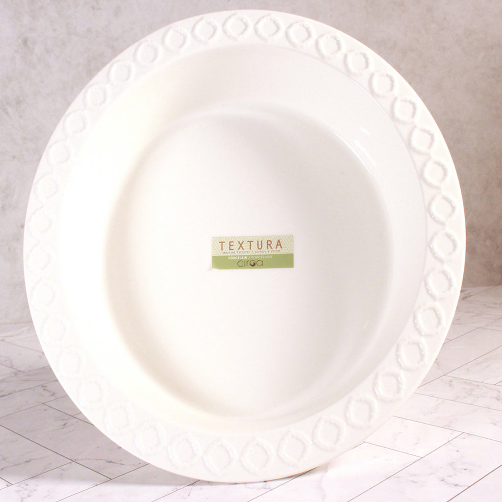 Ceramic Pie Dish - Trellis