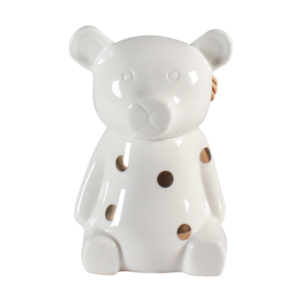 Honey Pot - Bear Gold Polka Dot
