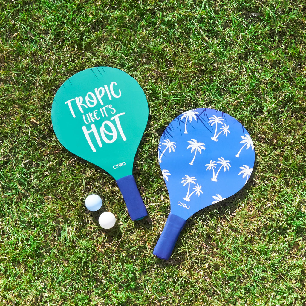 Paddle Ball Set - Blue Tropic
