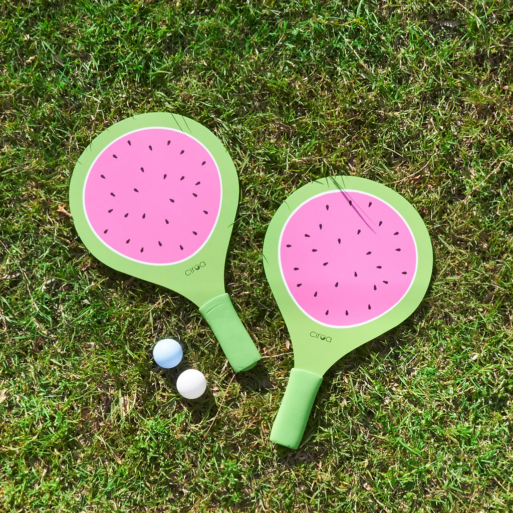 Paddle Ball Set - Watermelon