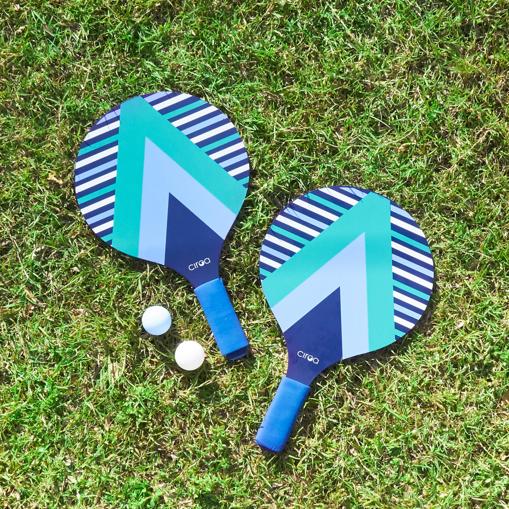 Paddle Ball Set - Retro Stripe