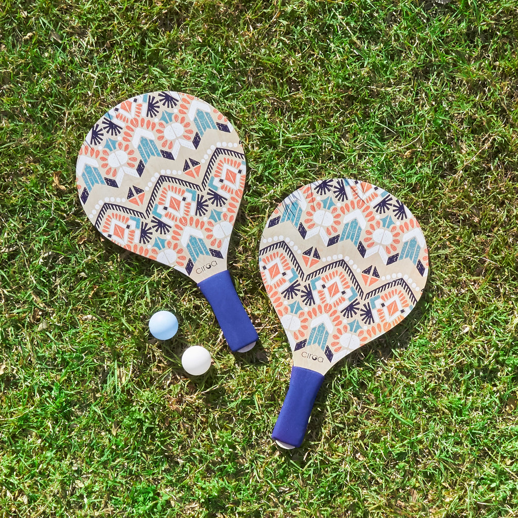 Paddle Ball Set - Boho