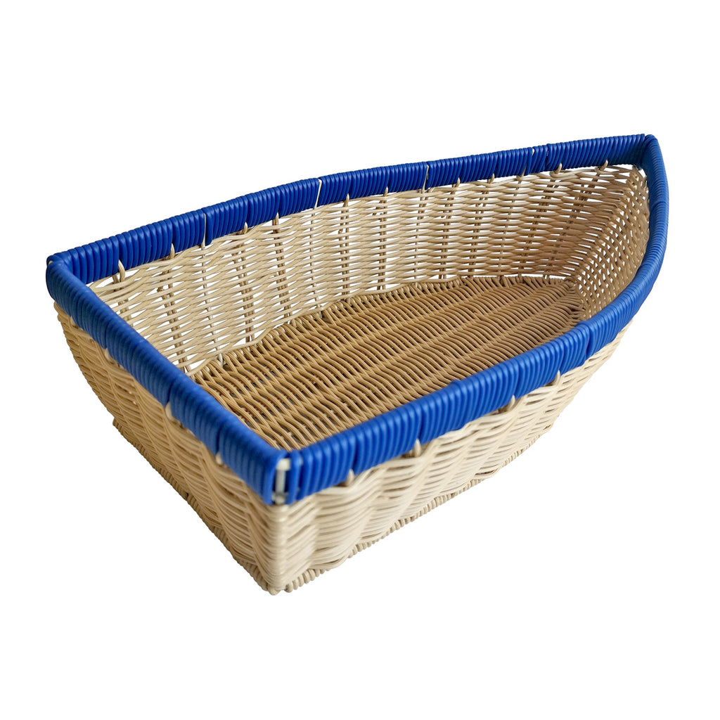 Resin Wicker Bowl - Boat