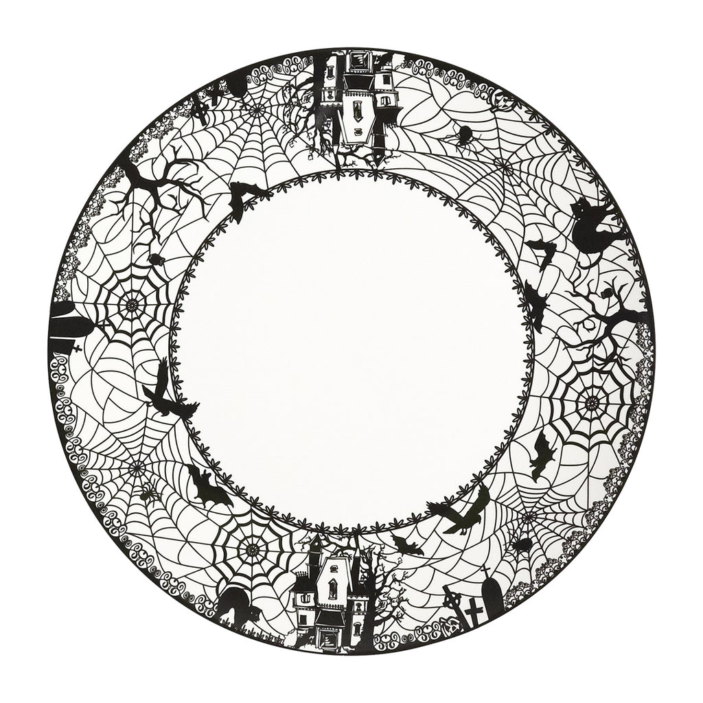 Dinner Plates Set of 4 - Spooky Lace