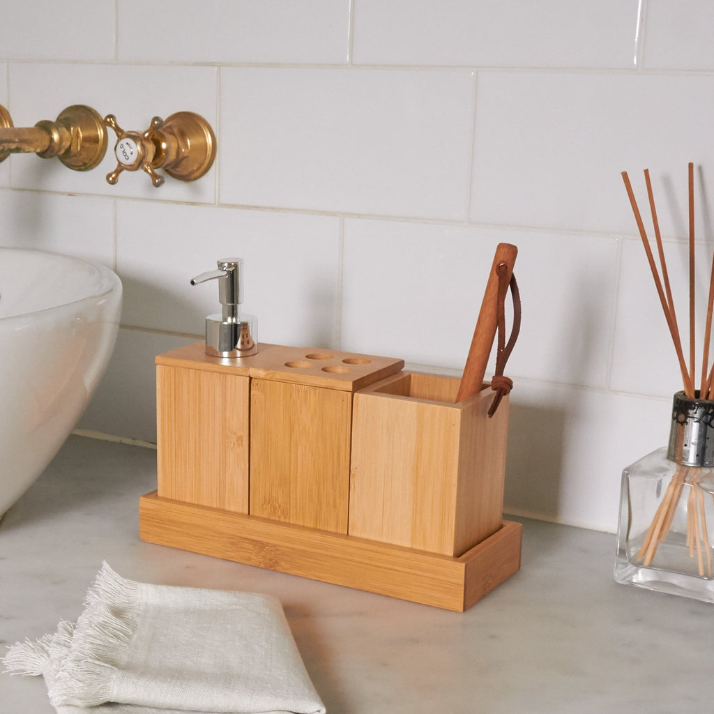 Bathroom Caddy - Bamboo