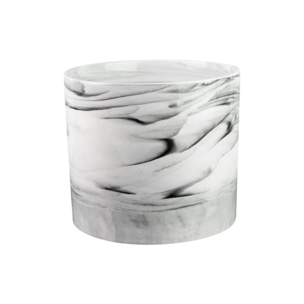 Marble Look Utensil Crock