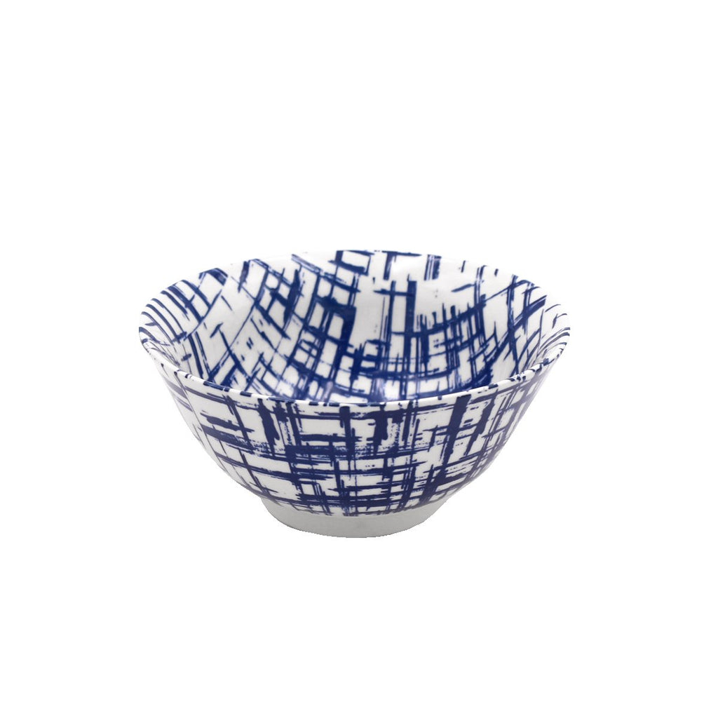 Cross Hatch Rice Bowl