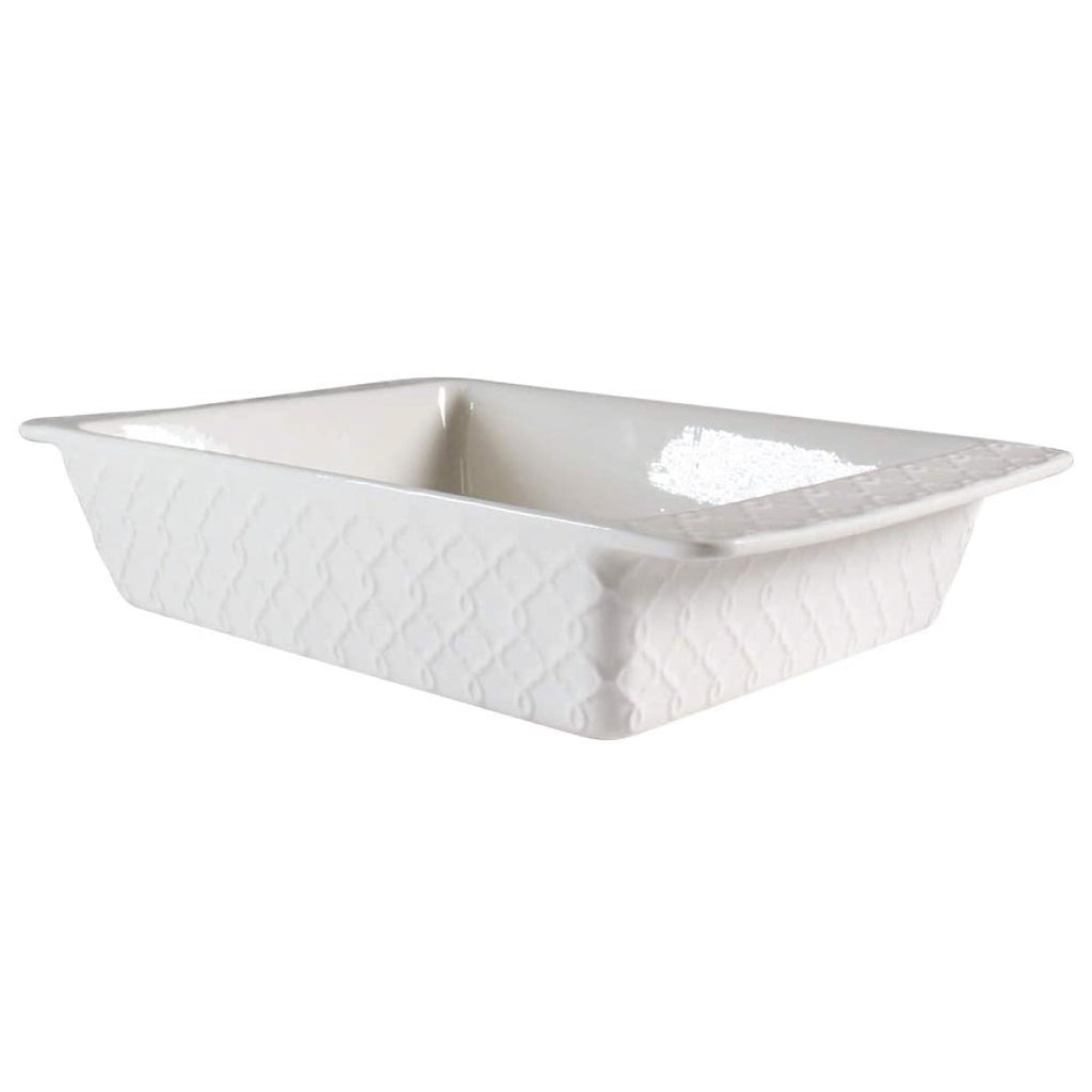 Ceramic Baking Dish - Trellis