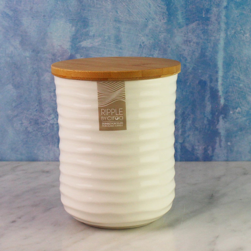 Ripple Storage Jar - Medium