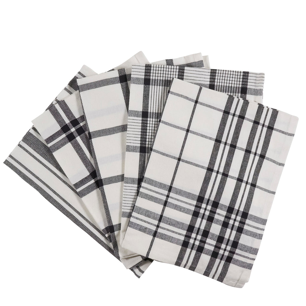 Tea Towels - Set of 5 Black