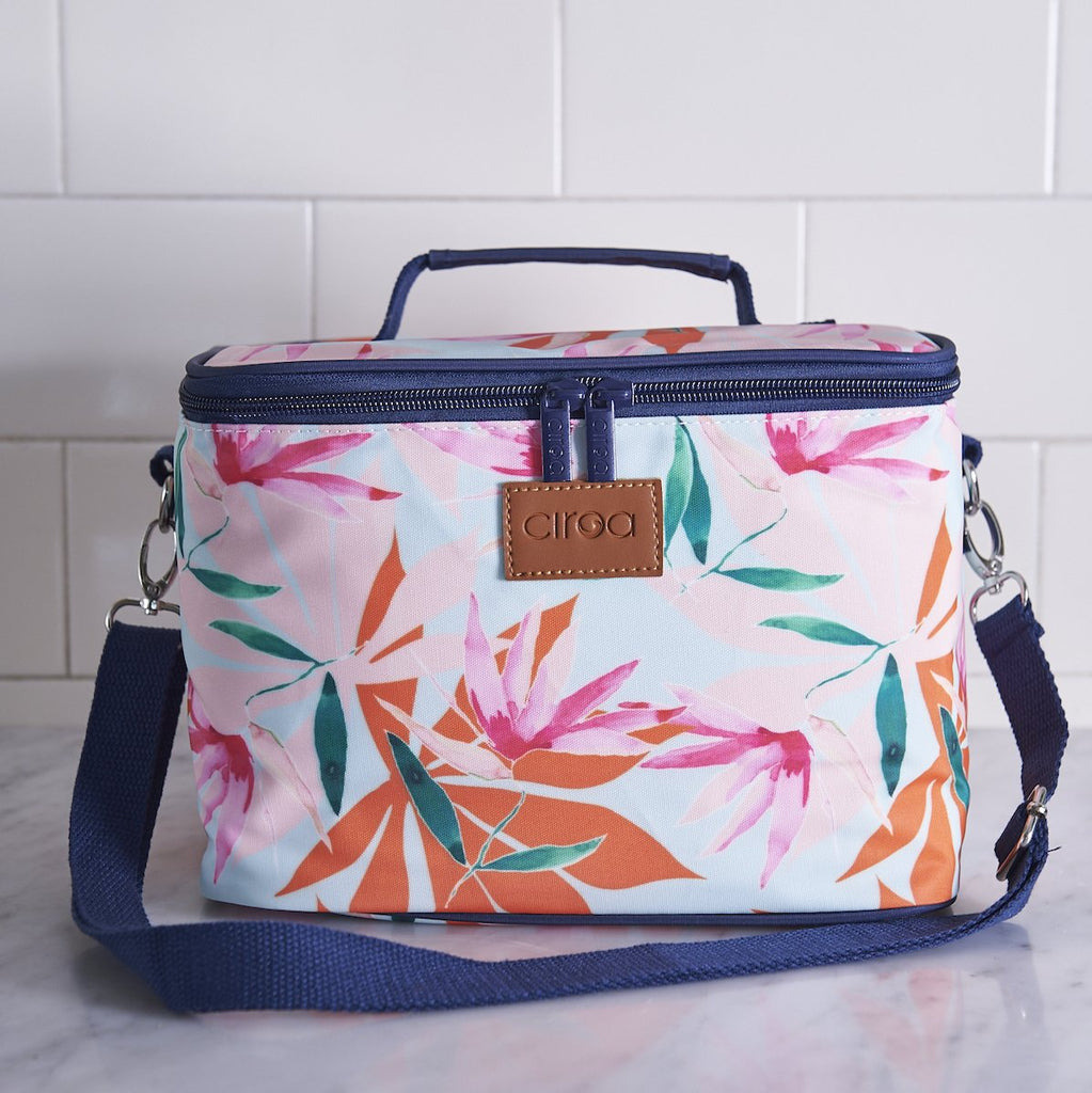Bright Tropics Lunch Bag