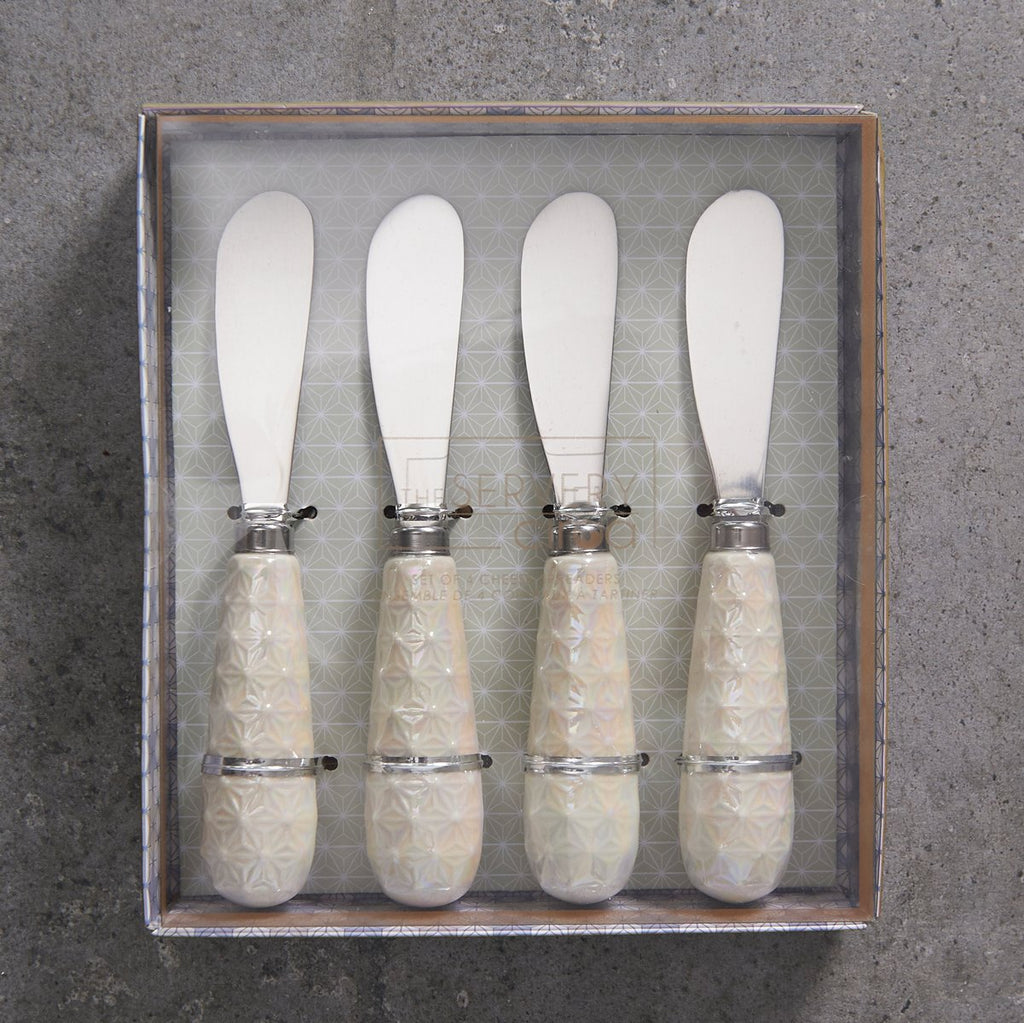 Cheese Spreader Set - Pearlised