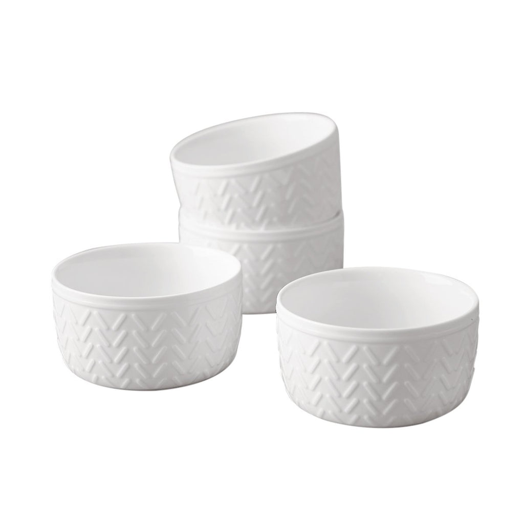 Dash Embossed Ramekin Set