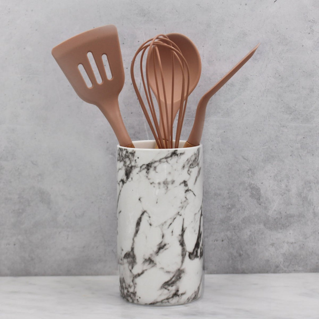 Utensil Set - Marble Design