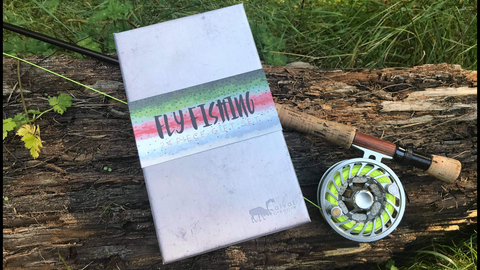 24 Piece Fly Fishing Gift Set