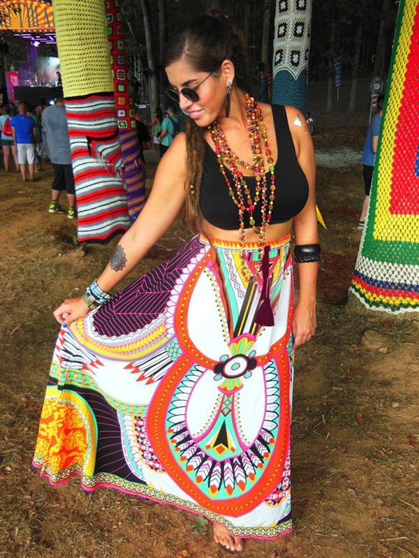 Beach Sexy Women Colorful Skirt Beach Cover Up Bottom