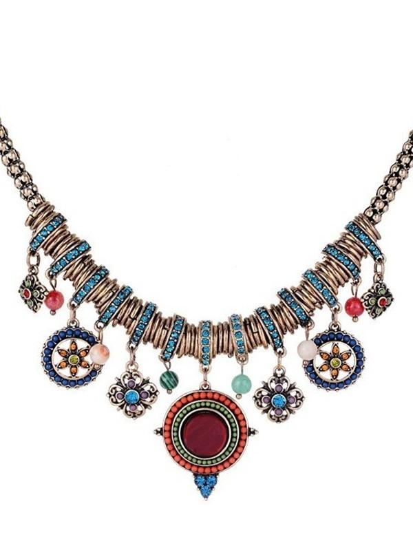 Fashion Bohemian Multi-layer Sweater Chain Retro Necklace