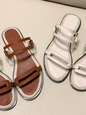 holiday vacation summer beach casual slide shoes