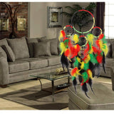 Bohemian Style Colorful Dream Catcher Wall Decoration