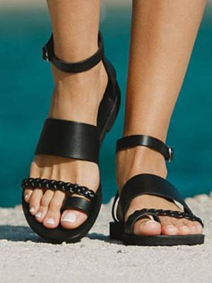 Summer Women Thong Flats Casual Sandals