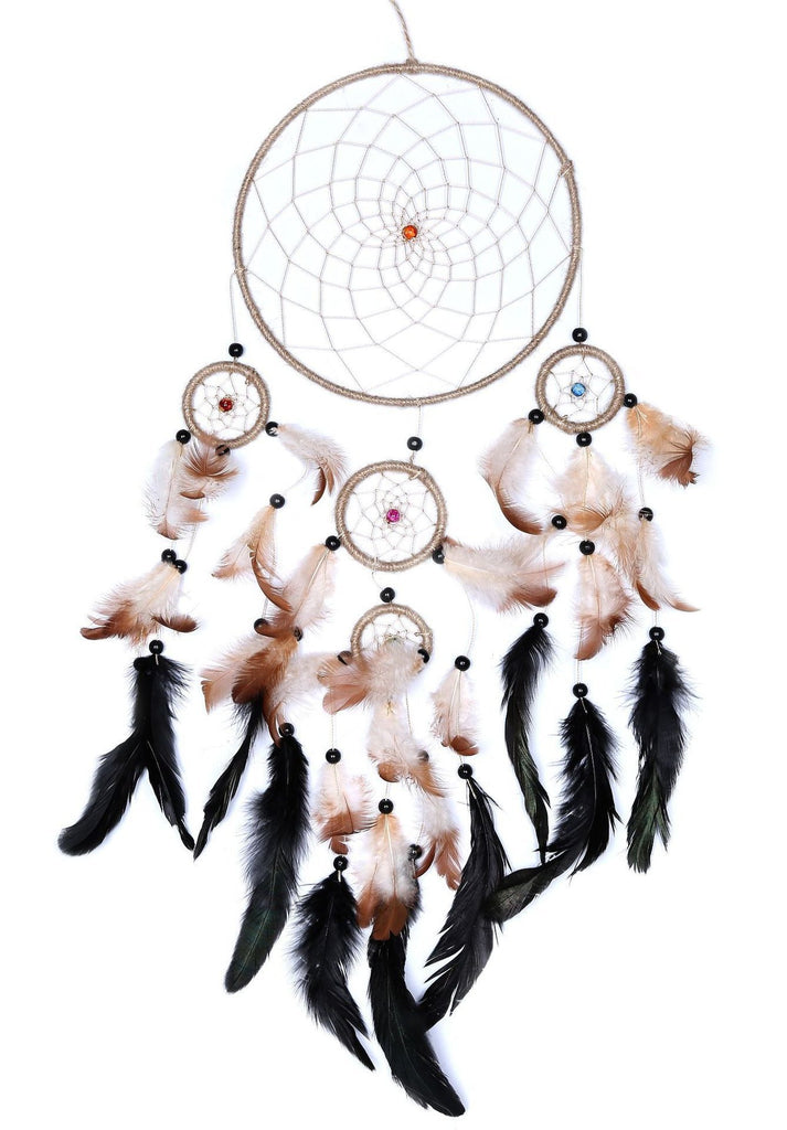 Dream catcher wall hanging feather ornament gifts