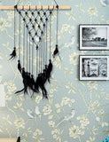 Black Feather Tassel Bohemian DreamCatcher Accessories