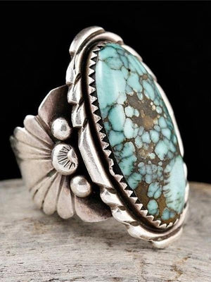 Bohemian Turquoise Beauty Fashion Rings